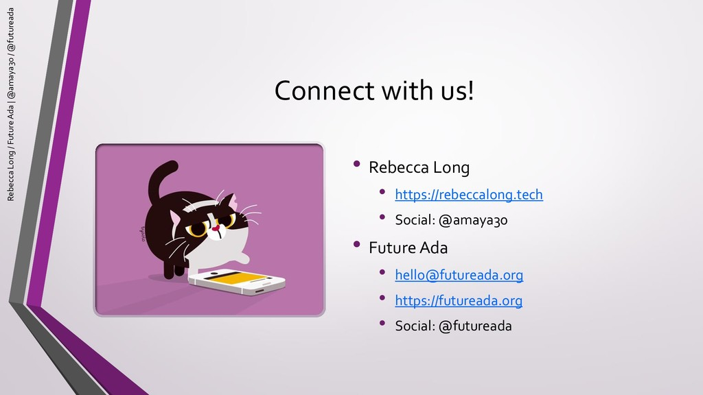Connect with us! • Rebecca Long • https://rebec...