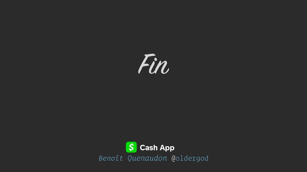 Benoît Quenaudon @oldergod Fin Cash App