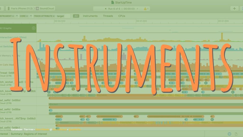 Instruments Esteban Torres • Core Clients @ Sou...