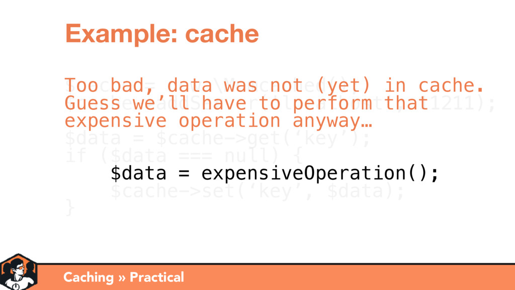 $cache = new \Memcached(); $cache->addServer('l...