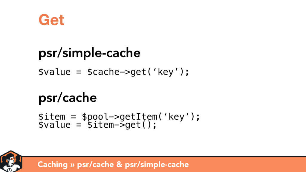 Caching » psr/cache & psr/simple-cache Get psr/...