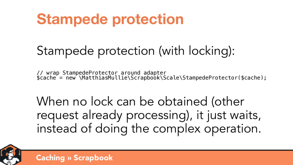 Caching » Scrapbook Stampede protection Stamped...