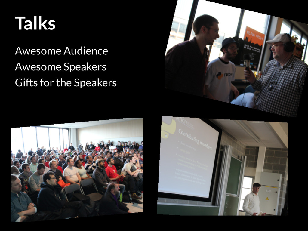 Talks Awesome Audience Awesome Speakers Gifts f...