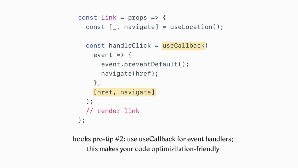 const Link = props => { const [_, navigate] = u...