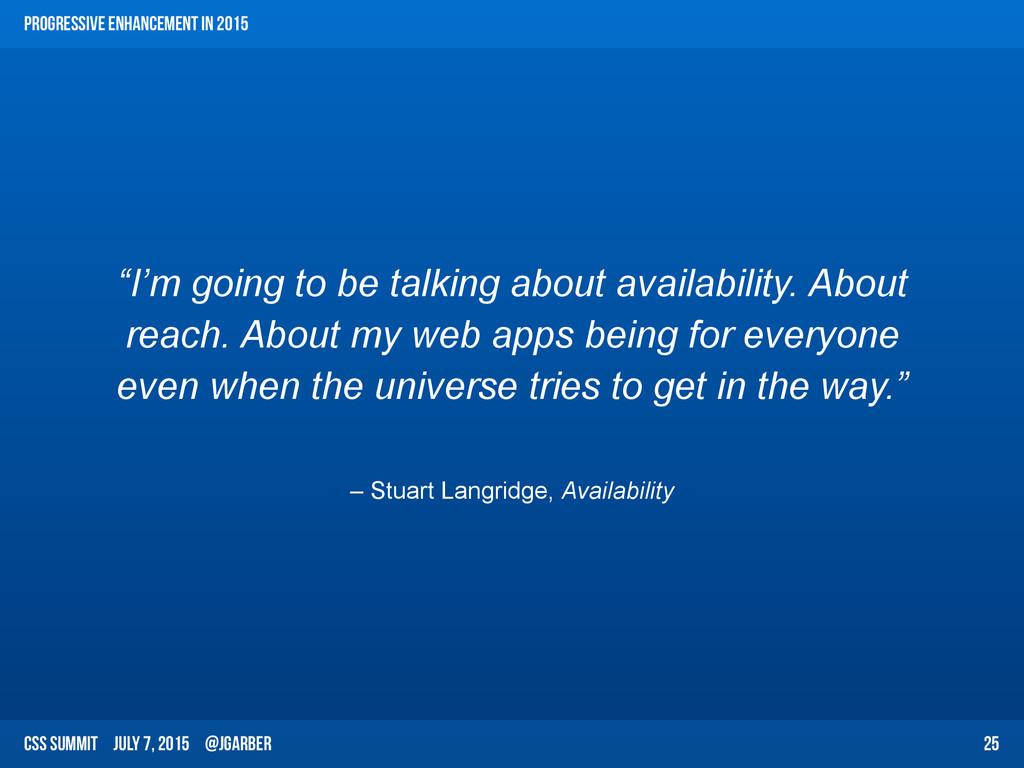CSS Summit July 7, 2015 @jgarber – Stuart Langr...
