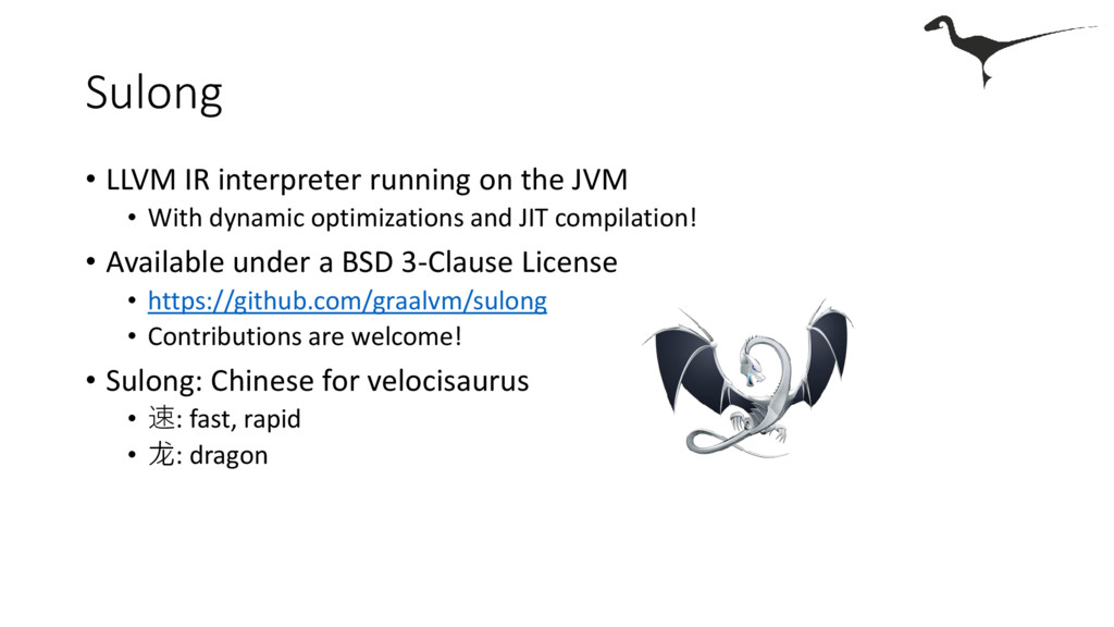 Sulong • LLVM IR interpreter running on the JVM...