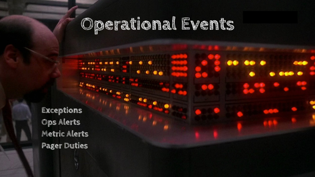 Operational Events Exceptions Ops Alerts Metric...