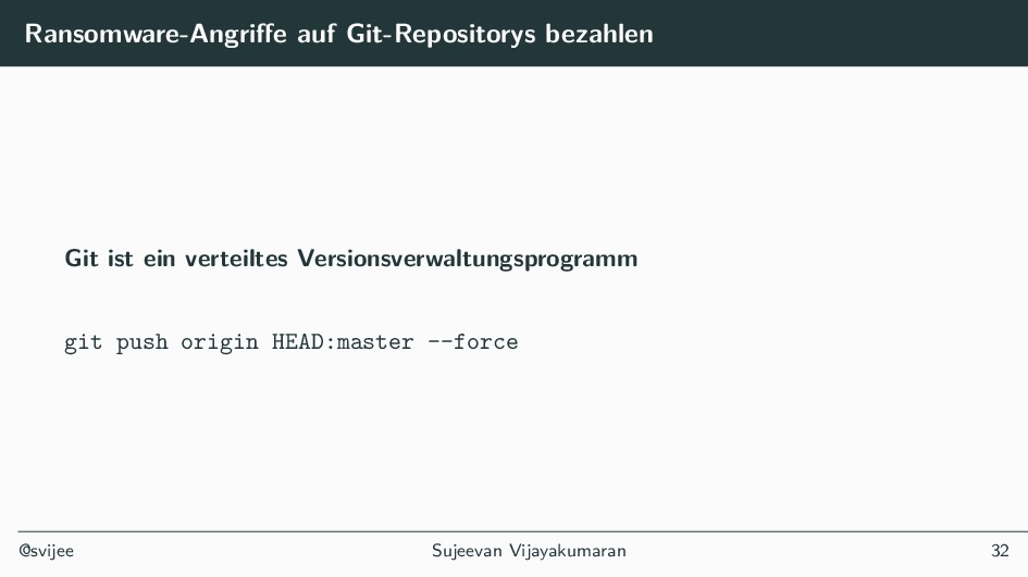 Ransomware-Angriffe auf Git-Repositorys bezahle...