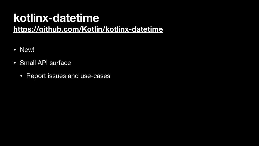 kotlinx-datetime https://github.com/Kotlin/kotl...