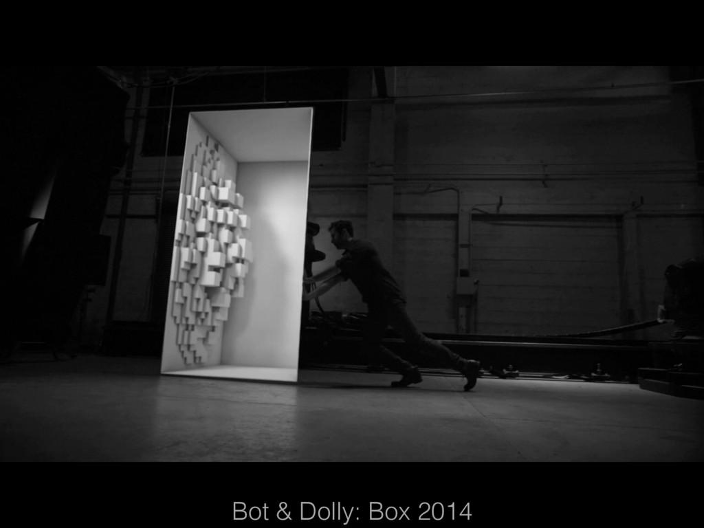 Bot & Dolly: Box 2014