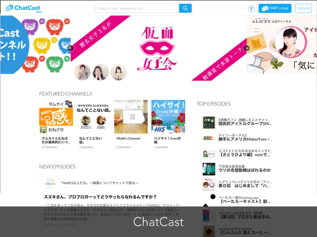 ChatCast