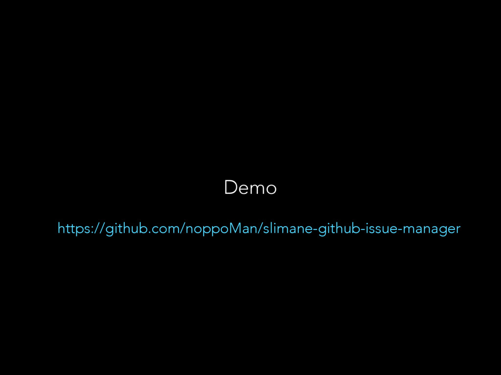 Demo https://github.com/noppoMan/slimane-github...