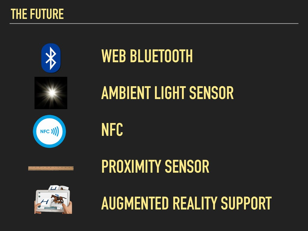 THE FUTURE WEB BLUETOOTH AMBIENT LIGHT SENSOR N...