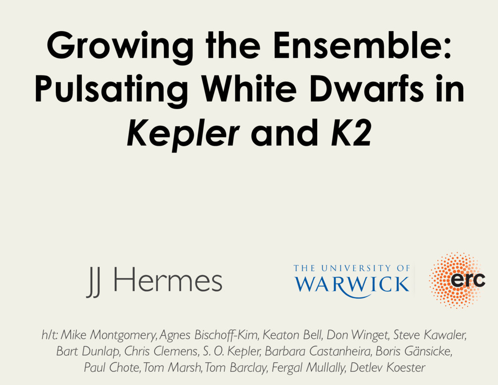Growing the Ensemble: Pulsating White Dwarfs in...