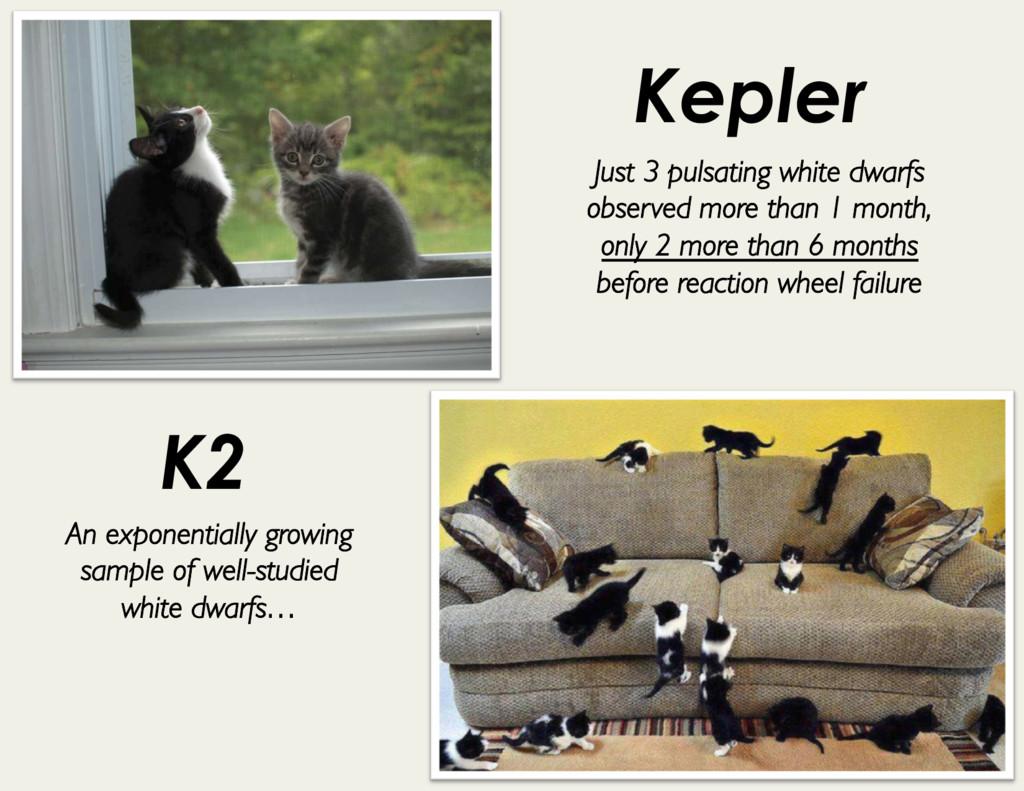 Kepler K2 Just 3 pulsating white dwarfs observe...