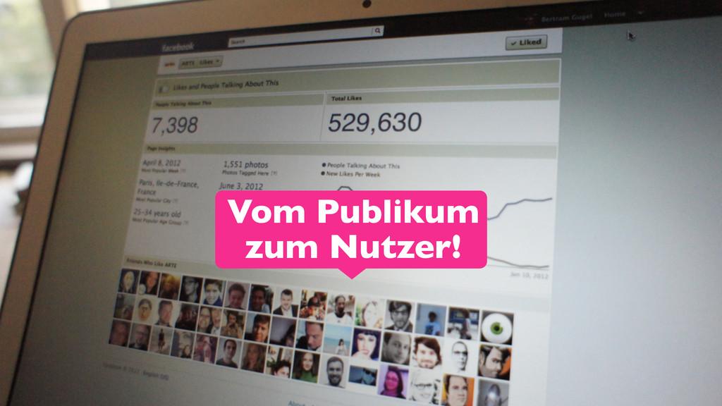24 Vom Publikum zum Nutzer!