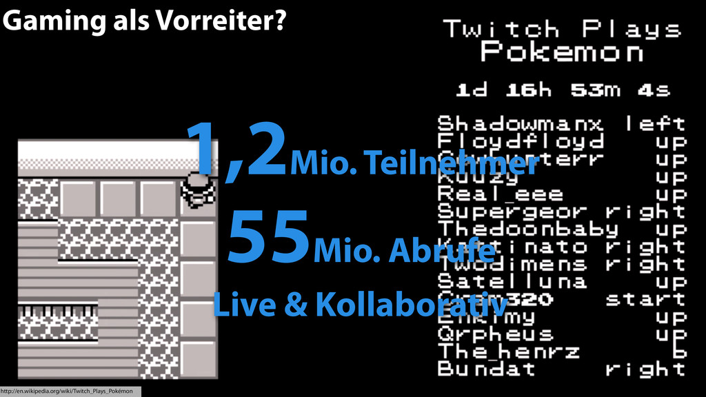 40 Gaming als Vorreiter? http://en.wikipedia.or...
