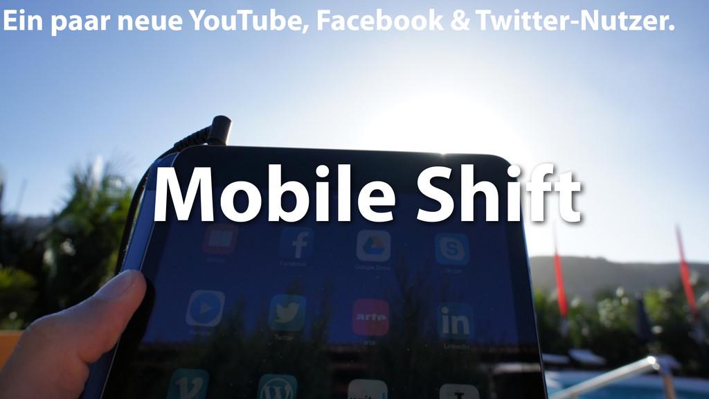 Ein paar neue YouTube, Facebook & Twitter-Nutze...