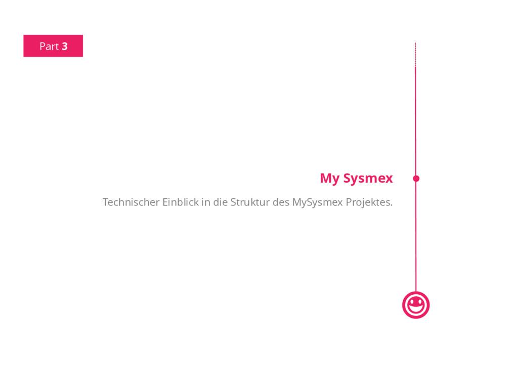 Part 3 My Sysmex Technischer Einblick in die St...