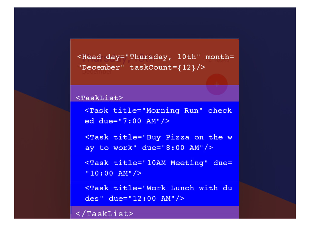 "<Head day=""Thursday, 10th"" month= ""December"" ta..."