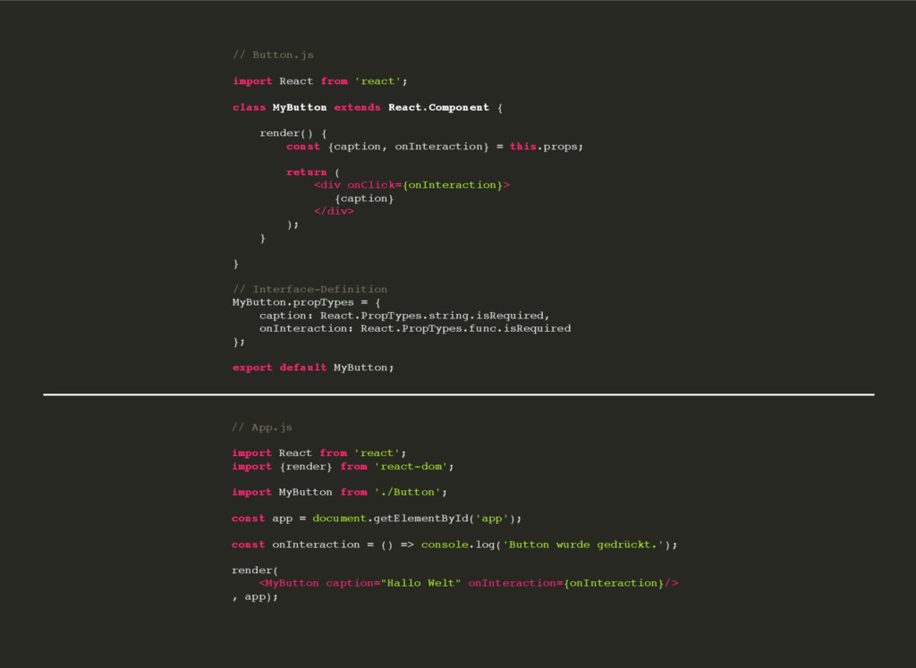 // App.js import React from 'react'; import {re...