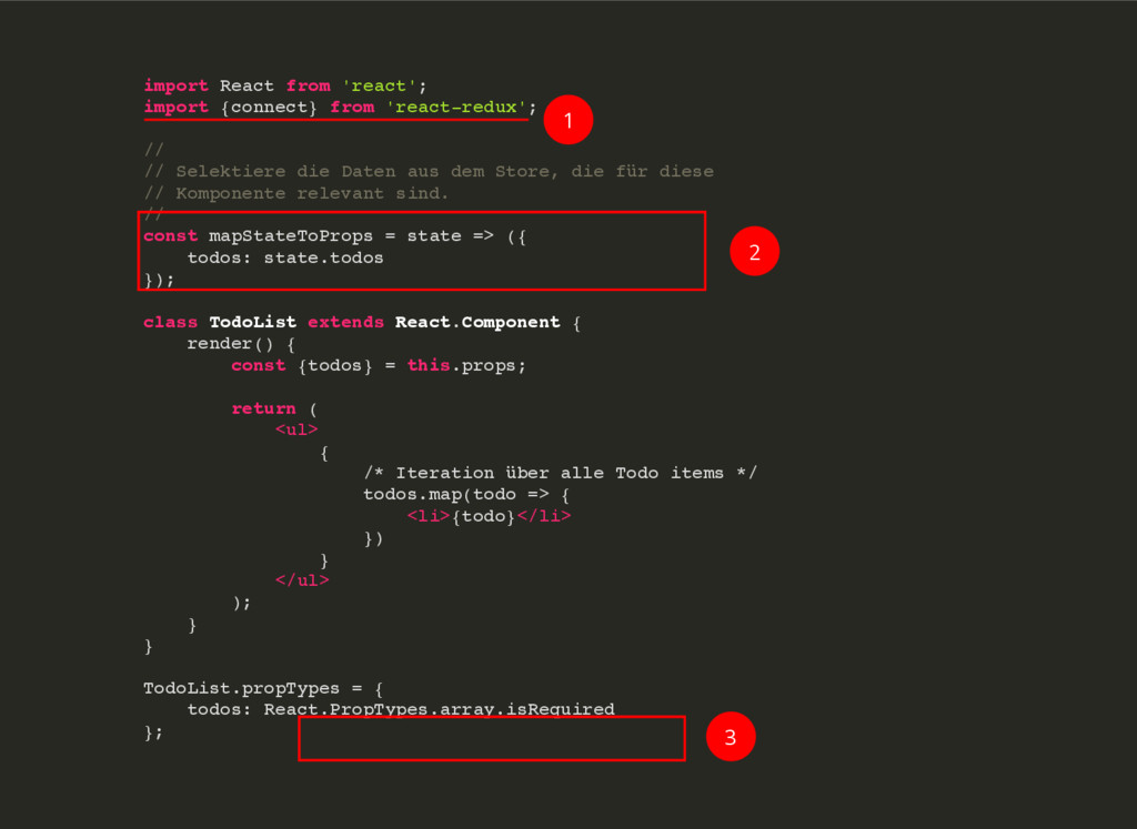 import React from 'react'; import {connect} fro...