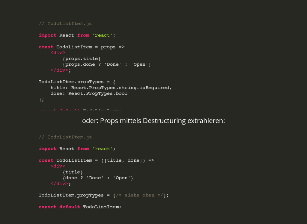 // TodoListItem.js import React from 'react'; c...