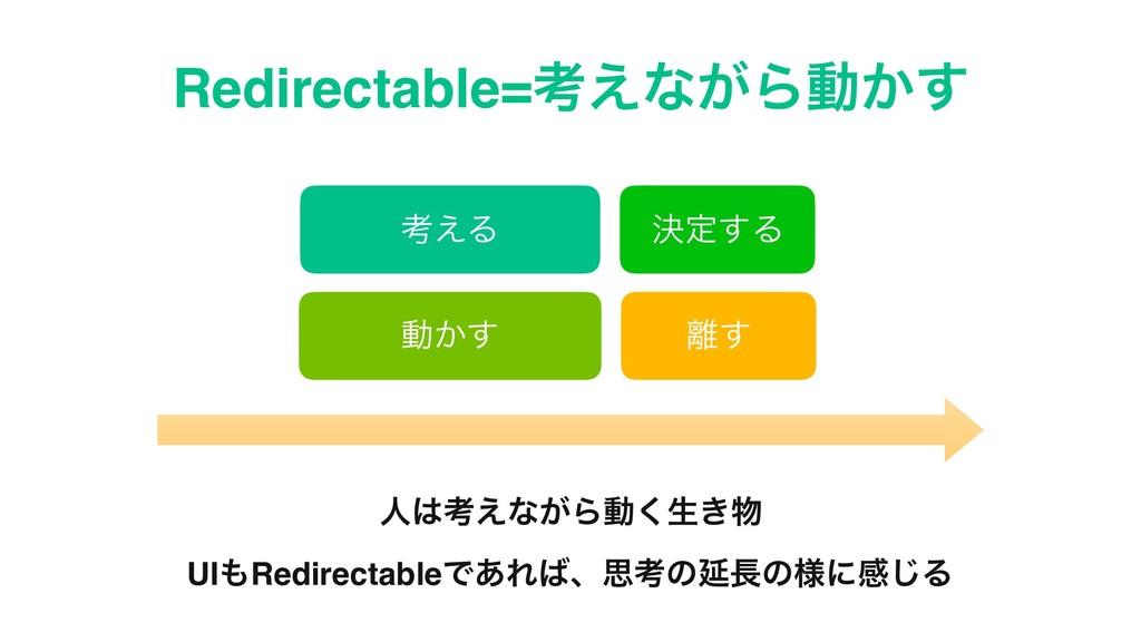 Redirectable=ߟ͑ͳ͕Βಈ͔͢ ߟ͑Δ ܾఆ͢Δ ಈ͔͢ ͢ ਓߟ͑ͳ͕Βಈ͘...