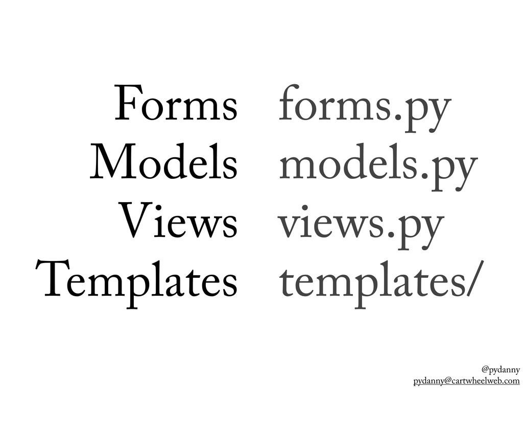 @pydanny pydanny@cartwheelweb.com forms.py mode...