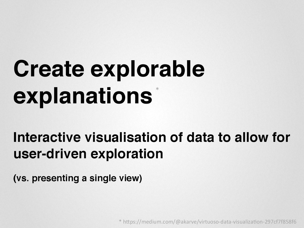 "Create explorable explanations"" "" Interactive v..."