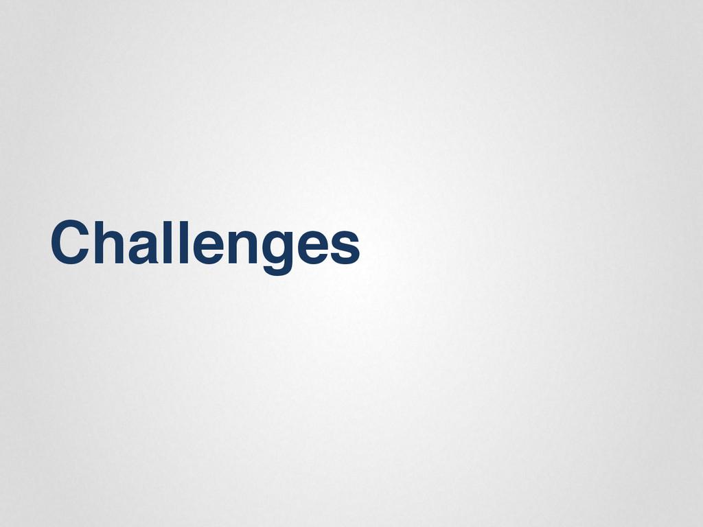 """Challenges"""""""