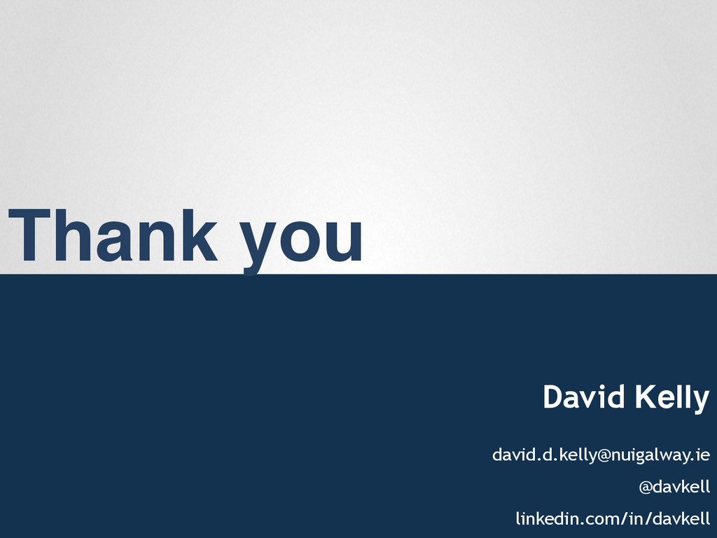 "Thank you"" David Kelly"" david.d.kelly@nuigalway..."