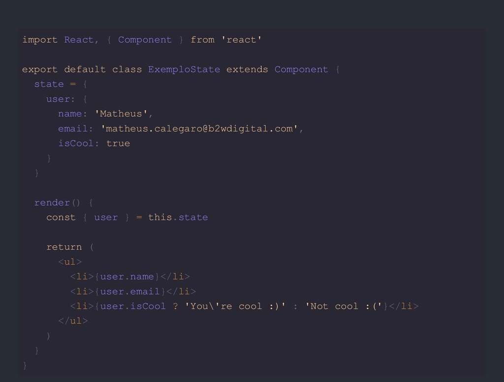 import React, { Component } from 'react' export...