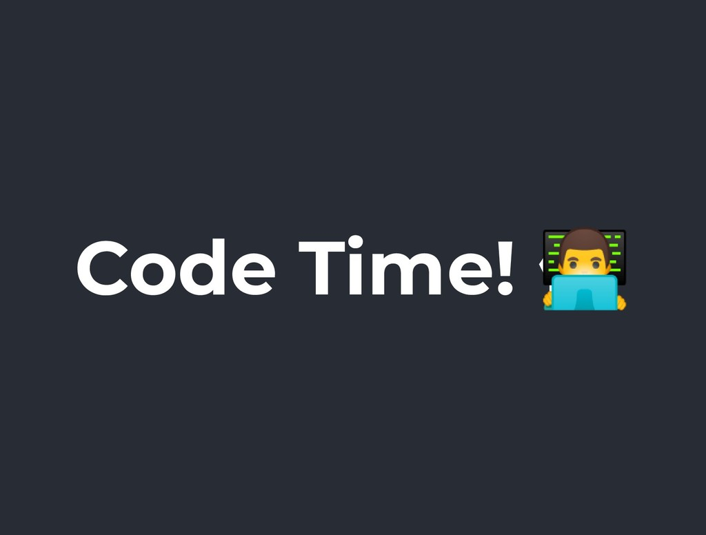 Code Time! ۫