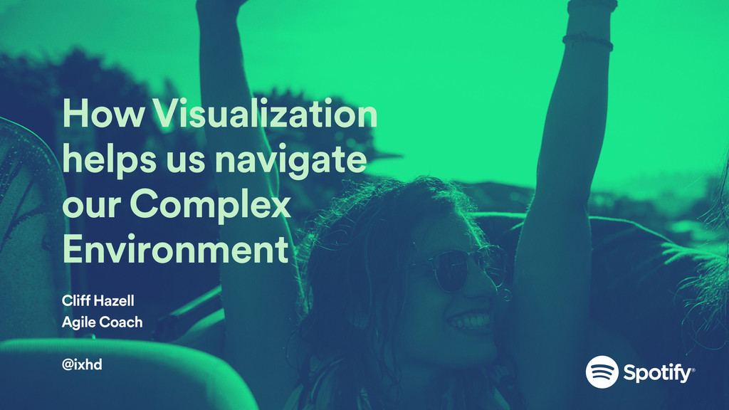 How Visualization helps us navigate our Complex...