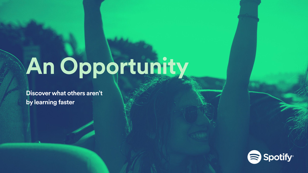 An Opportunity Discover what others aren't by l...