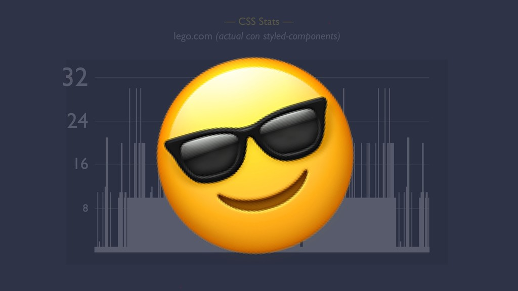 — CSS Stats — 32 lego.com (actual con styled-co...