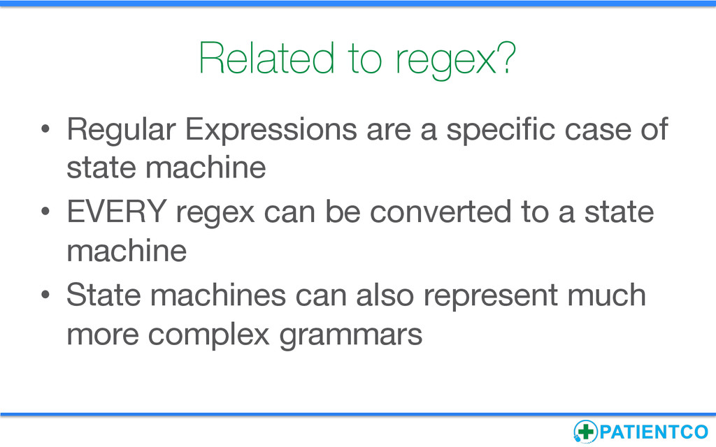 Related to regex?