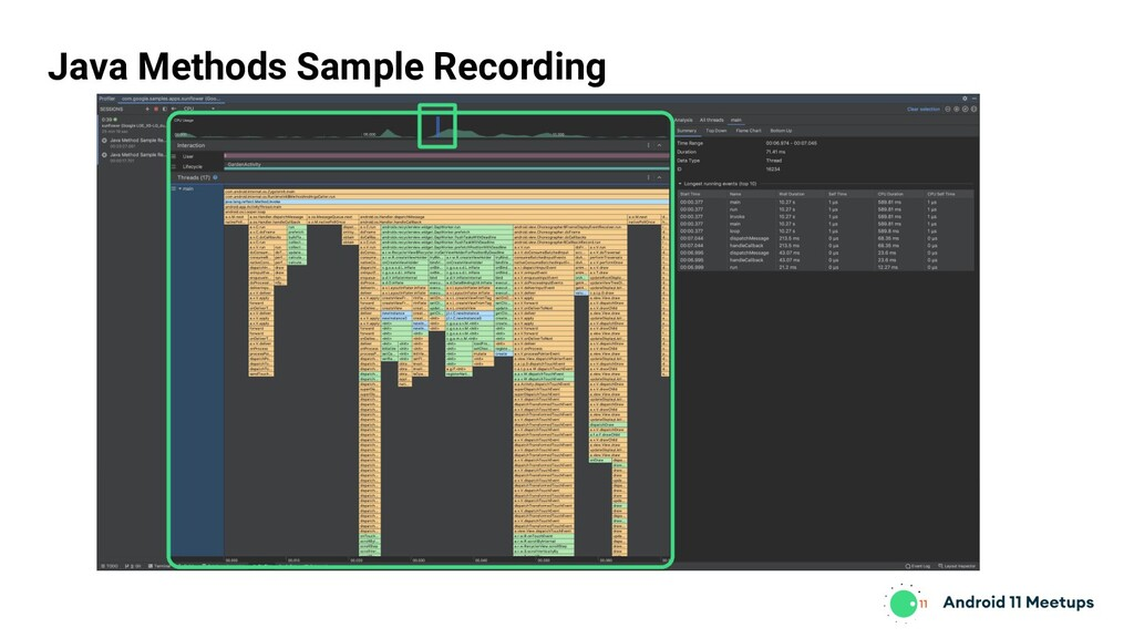 Java Methods Sample Recording