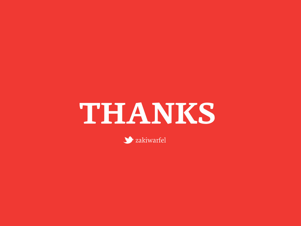 THANKS zakiwarfel