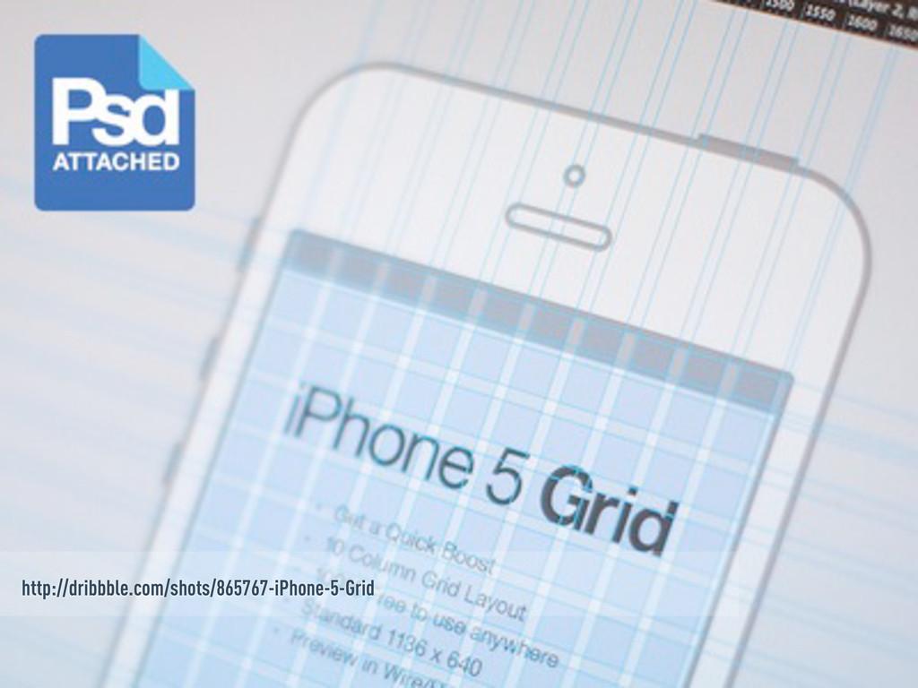 http://dribbble.com/shots/865767-iPhone-5-Grid