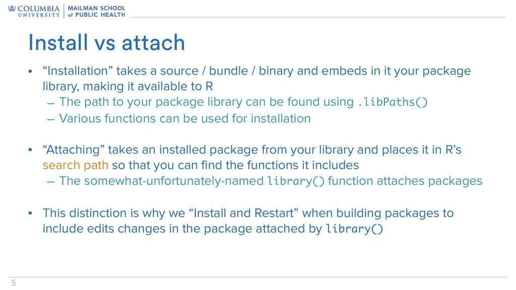 """5 • """"Installation"""" takes a source / bundle / bi..."""