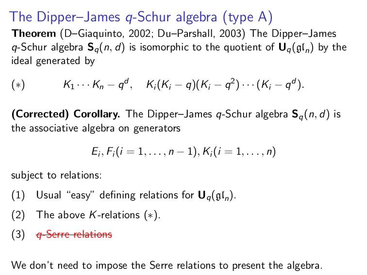 The Dipper–James q-Schur algebra (type A) Theor...
