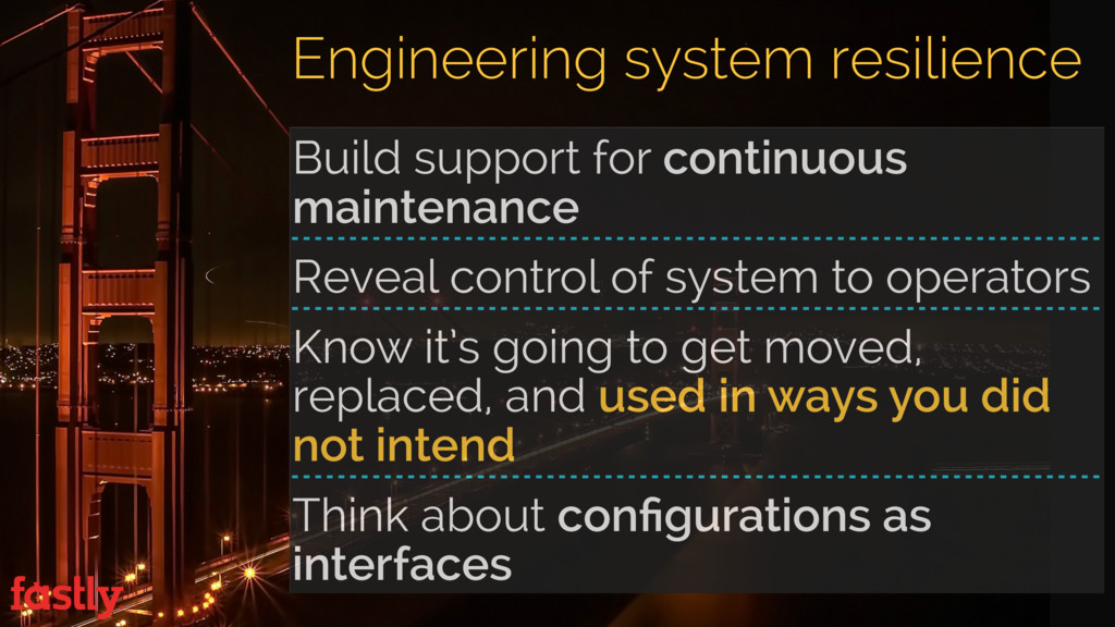Build support for continuous maintenance Reveal...