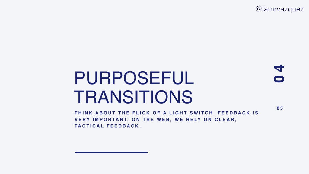 PURPOSEFUL TRANSITIONS T H I N K A B O U T T H ...