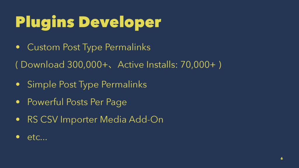 Plugins Developer • Custom Post Type Permalinks...