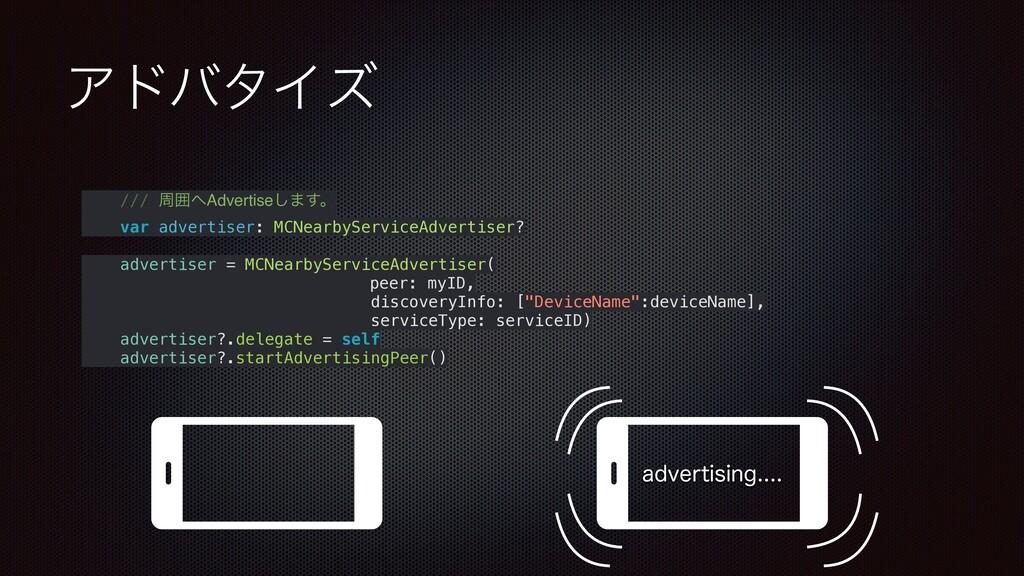ΞυόλΠζ /// पғAdvertise͠·͢ɻ var advertiser: MCN...