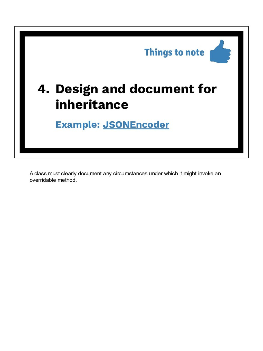 4. Design and document for inheritance Example:...