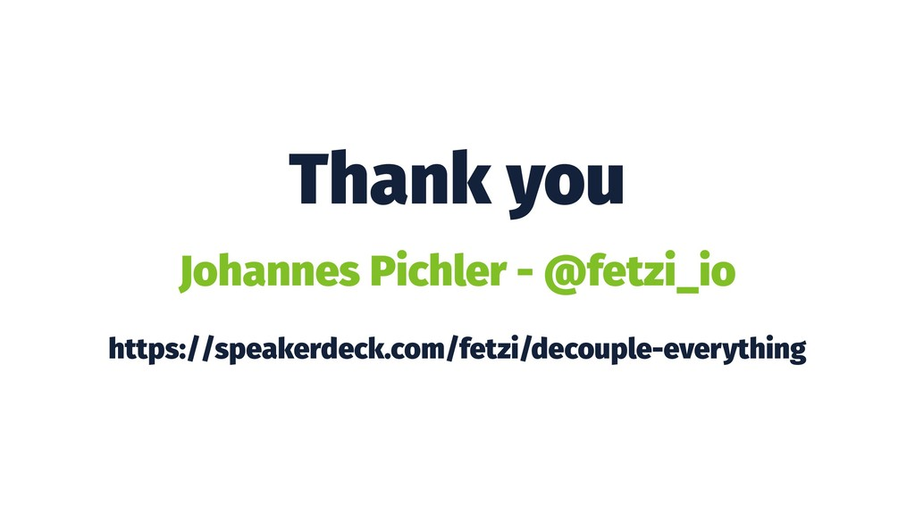 Thank you Johannes Pichler - @fetzi_io https://...