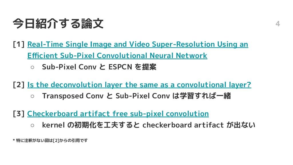 今日紹介する論文 [1] Real-Time Single Image and Video S...